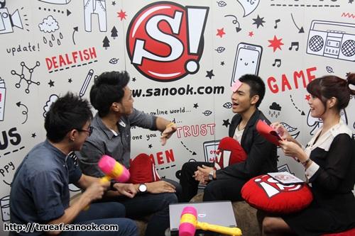 บรรยากาศ Sanook LiveChat เท็น - เบนซ์ AF10
