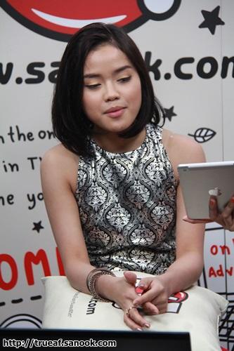 Sanook Livechat กับ แตงไทย AF10