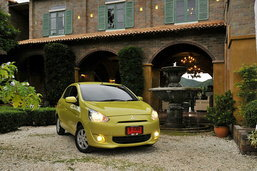 Mitsubishi Mirage  มากกว่าแค่อีโค่คาร์