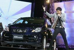 ตรวจแถวรถใหม่  Motor Expo 2012