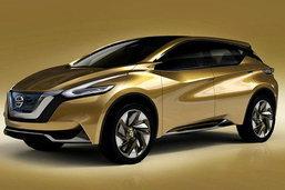 Nissan Resonance Concept  ยลโฉมว่าที่รุ่นใหม่ของ  Nissan Murano