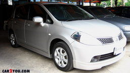 NISSAN TIIDA HATCHBACK 1.6L (G) AT