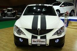 รถยนต์ Motor show 2010 -SSangYong