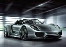 รีวิว Porsche 918 Spider in Hybrid