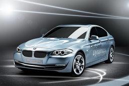 ปีหน้าเจอกัน  BMW Series 5 Active Hybrid
