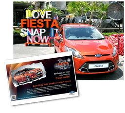 ฟอร์ดจัดกิจกรรมถ่ายภาพชิง Fiesta พร้อมเผยเตรียมพบตัวเป็นๆ กันยายนนี้