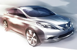 Nissan เผยภาพใหม่ Versa  2011 แดนลุงแซม