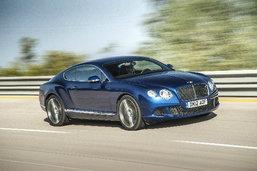 Bentley Continental GT Speed  แรงเร้าใจในราคา 22 ล้าน