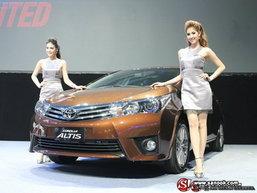 เปิดตัวแล้ว! Toyota Corolla Altis 2014 อย่างเป็นทางการในไทย