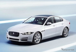 Jaguar XE เผยโฉมแล้วก่อนงานเปิดตัวที่ Paris Motor Show 2014