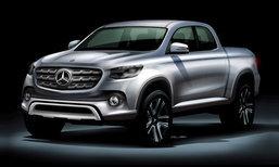 กระบะหรูจากค่าย 'Mercedes-Benz' มีลุ้นใช้ชื่อ 'X-Class'