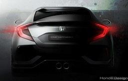 ทีเซอร์ 2016 Honda Civic Hatchback เตรียมเปิดตัวที่เจนีวามอเตอร์โชว์เร็วๆนี้