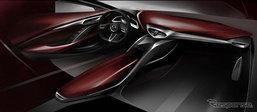 เผยภาพห้องโดยสาร Mazda CX-4 ใหม่ ก่อนเปิดตัวจริงปลายเดือนนี้