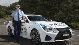 เจ๋ง! ออสเตรเลียเตรียมใช้ 'Lexus RC F' เป็นรถตำรวจ