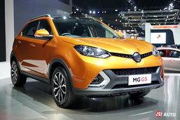 MG GS เอสยูวีขุมพลังเทอร์โบเผยโฉมที่งานมอเตอร์โชว์ 2016 เคาะเริ่มต้น 1.21 ล้านบาท