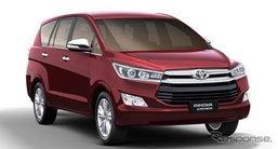 Toyota Innova Crysta ใหม่ มียอดจองเฉียด 2 หมื่นคันแล้วที่อินเดีย