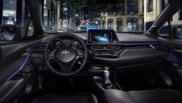 Toyota C-HR เผยภาพห้องโดยสารภายในสุดล้ำ