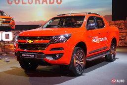 ประกาศราคา 2017 Chevrolet Colorado ไมเนอร์เชนจ์ใหม่ รุ่นท็อปสุด 1.068 ล้านบาท
