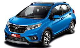 หลุด 'Honda WR-V' เผยรูปลักษณ์ถอดแบบจาก 'Jazz' เปี๊ยบ
