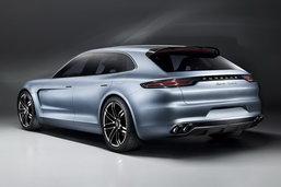 Porsche Panamera Sport Turismo เตรียมเปิดตัวที่ปารีสมอเตอร์โชว์ 2016