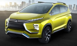 Mitsubishi XM Concept ครอสโอเวอร์เอ็มพีวีเตรียมเปิดตัวที่อินโดนีเซีย