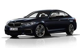 2017 BMW 5-Series G30 ใหม่ เผยโฉมอย่างเป็นทางการแล้ว