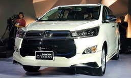 All-new Toyota Innova Crysta ใหม่ เปิดตัวอย่างเป็นทางการในไทย เริ่ม 1.129 ล้านบาท