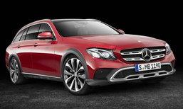 Mercedes-Benz E-Class All-Terrain ใหม่ แวกอนขาลุยไม่ทิ้งความหรู