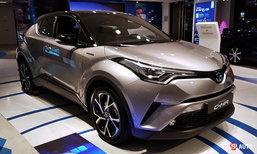 จัดเต็ม! 2017 Toyota C-HR ใหม่ ทั้งภายนอก-ภายใน
