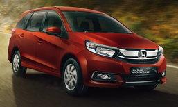 2017 Honda Mobilio ไมเนอร์เชนจ์ใหม่เริ่มวางขายแล้วที่อินโดฯ