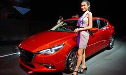 Mazda3 2017 ไมเนอร์เชนจ์ใหม่ ขุมพลังเบนซิน 2.0 ลิตรทุกรุ่น เริ่ม 8.47 แสนบาท