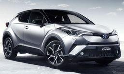 Toyota C-HR ผ่านเข้ารอบ 3 คันสุดท้าย ของรางวัล World Car Design