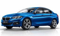 BMW 1-Series Sedan ใหม่ เคาะเริ่มเพียง 1.04 ล้านบาทที่จีน