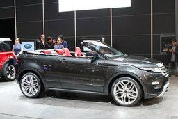 Land Rover Evoque Convertible เปิดหลังคาเผยโฉมแล้ว