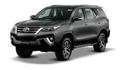 ราคารถใหม่ Toyota ในตลาดรถประจำเดือนกันยายน 2558