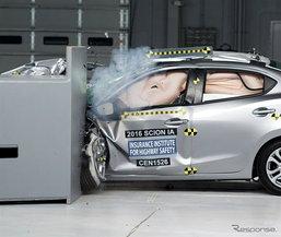 Mazda 2 Sedan/Scion iA ได้รับเลือกรถซับคอมแพ็คปลอดภัยที่สุดในสหรัฐฯ