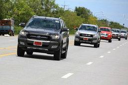 รีวิว Ford Ranger 2015 กระบะแกร่ง ฟังก์ชั่นเพียบ ช่วงล่างเยี่ยม