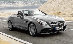 Mercedes-Benz SLC ใหม่ (SLK ไมเนอร์เชนจ์) เผยภาพจริงก่อนเปิดตัวอย่างเป็นทางการ