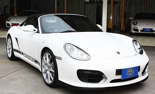 TSL นำเข้า Porsche Boxster Spyder ฟูลออพชั่น