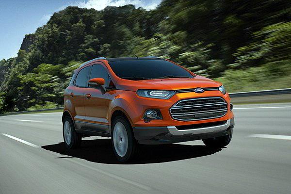 Ford Eco sport มันมาไทยแน่ fiesta คราบ SUV