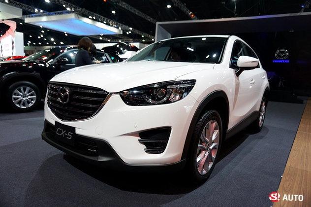 รถใหม่ Mazda ในงาน Motor Show 2016