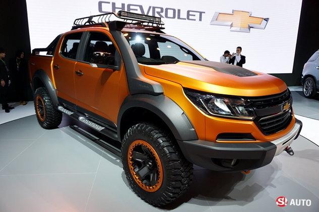 Chevrolet Colorado Xtreme กระบะออฟโรดแต่งหล่อเผยโฉมที่งานมอเตอร์โชว์ 2016