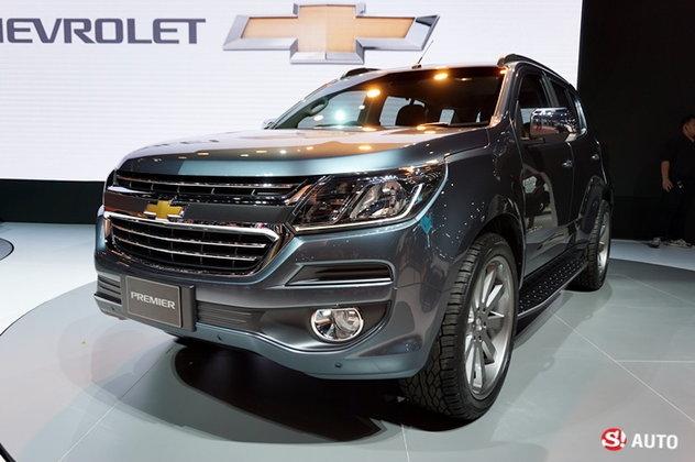 Chevrolet Trailblazer Premier พีพีวีอัพหรูเผยโฉมที่งานบางกอกมอเตอร์โชว์ 2016
