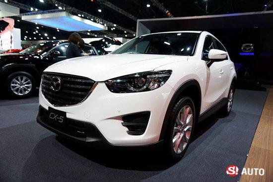 Mazda CX-5 ไมเนอร์เชนจ์ใหม่เผยโฉมที่งานมอเตอร์โชว์ 2016