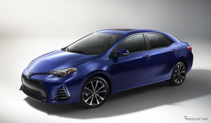 2017 Toyota Corolla ไมเนอร์เชนจ์เผยโฉมแล้วในสหรัฐฯ