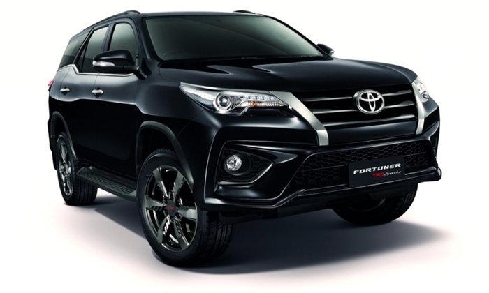 ราคารถใหม่ Toyota ในตลาดรถประจำเดือนกรกฎาคม 2559