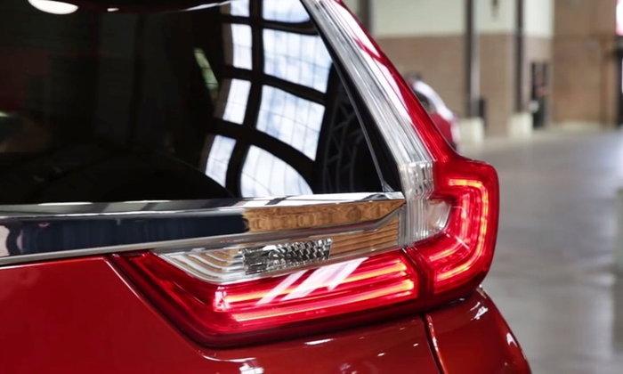 2017 Honda CR-V ใหม่ คราวนี้มาเป็นคลิปเห็นชัดภายนอก-ภายใน