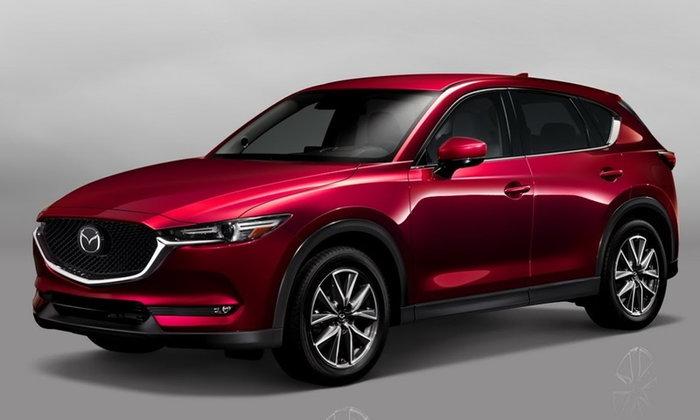 2017 Mazda CX-5 ใหม่ เผยโฉมในสหรัฐฯ ปรับดีไซน์ใหม่หมดทั้งคัน