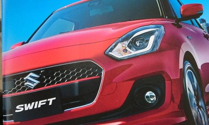 หลุดโบรชัวร์ 2017 Suzuki Swift ใหม่ พร้อมสเป็คและราคา