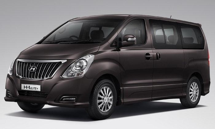 Hyundai H1 Elite Plus ใหม่ เพิ่มอ็อพชั่นพิเศษ เคาะ 1.529 ล้านบาท